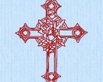 Holy Cross (2) Embroidery pattern (downloadable)