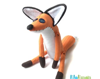 Little Prince Fox   / Zorro de El Principito / Little Prince fox softie