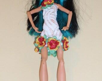 Handmade M.H. dolls  dress -Handmade M.H. dolls  clothes