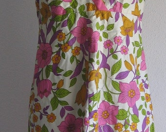 60s /70s Vintage sundress MInt S M