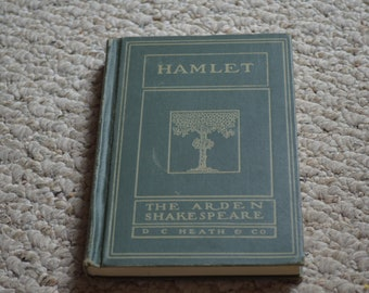 Hamlet---The Arden Shakespeare---Small Hardcover Book---From 1917