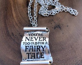Fairytale Necklace , Princess Necklace , Bride Gift, Bridesmaids Gifts, Gift for her .