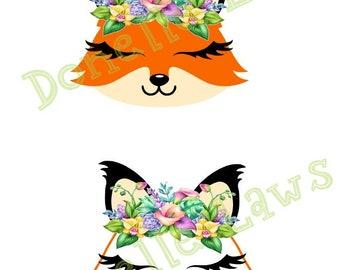 Fox Print N cut file
