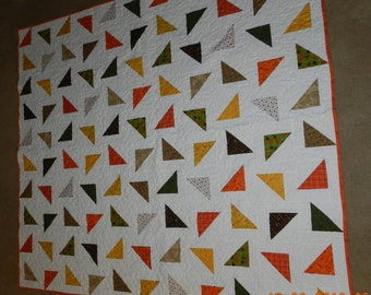 Falling Triangle Quilt