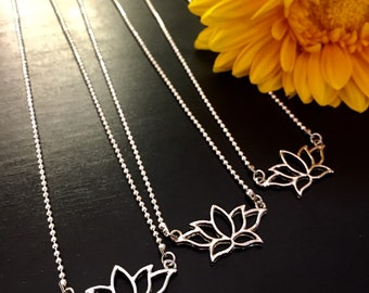 Lotus Lovers Necklace