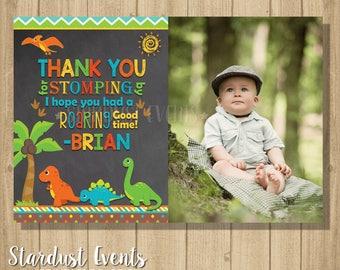 Dinosaur Thank You Card, Dino Thank you Card, Thank You Card