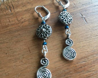 Gothic Style Drop Earrings
