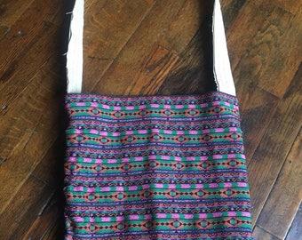Handmade crossbody purse