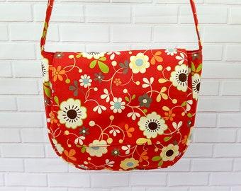Girls Messenger Bag, Crossbody Purse, Messenger Bag Women, Fabric Vegan Bag, Crossbody Bag, Cross Body Shoulder Bag, Vegan Bag, Book Bag
