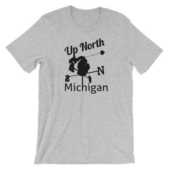 Michigan Up North Short-Sleeve Unisex T-Shirt
