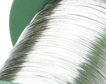1M .925 Sterling Silver Craft Wire 0.4mm 0.6mm 0.8mm 1.0mm Jewellery Making