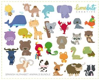 BUNDLE Spanish Alphabet Animals