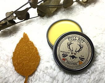 Harvest Handmade Mustache Wax All Natural Salve Styling Conditioner Pomade 1oz