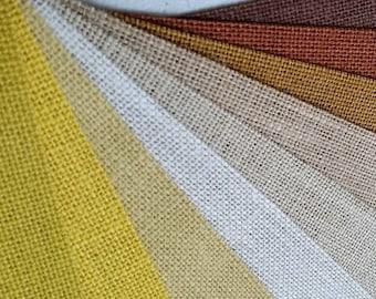 9 inch burlap ribbon  - Ivory  - Beige - Butter - Daffodil - Natural - Harvest Gold - Brown