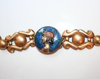 Art deco bracelet, egyptian revival Pharaoh, Ramses - RAMSES 1930 bracelet bracelet bracelet