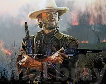 Clint Eastwood, The Outlaw Josey Wales, print, poster