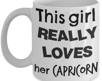Zodiac Coffee Mug, This girl REALLY LOVES her LEO, all zodiac signs available, free shipping