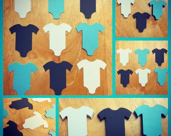 Onesies Cut Outs (Various Sizes and Colors Available)