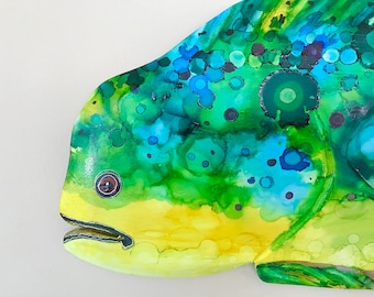 SPOT, Mahi Mahi, Dorado, Dolphin Carving