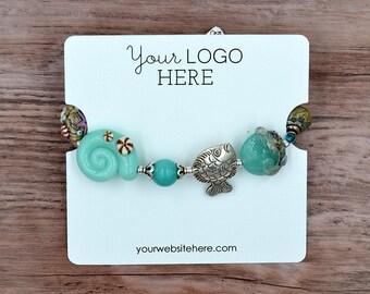Custom Bracelet Display Cards - Jewelry Display Cards | DS0123