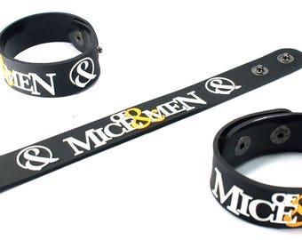 Of Mice & Men New! Rubber Bracelet Wristband The Flood Mam104Na