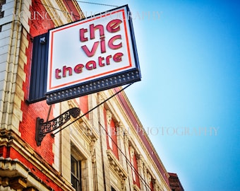The Vic Theater Lakeview, Chicago -photograph 16x20