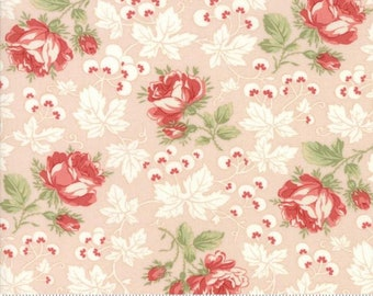 Victoria Pink Ribbon Kensington Garden by 3 sisters for Moda 44161-11