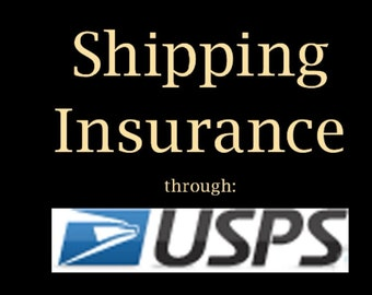 Shipping insurance for OSM jewelry.