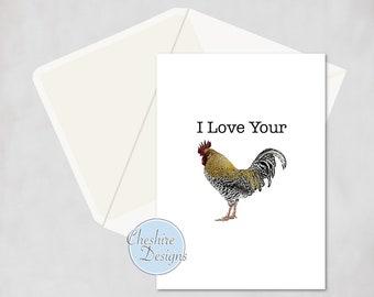 Rude valentines card etsy