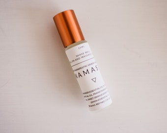 Namaste essential oil roll on blend