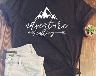 Adventure is Calling: tank OR tshirt