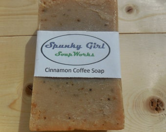 Cinnamon Coffee Soap