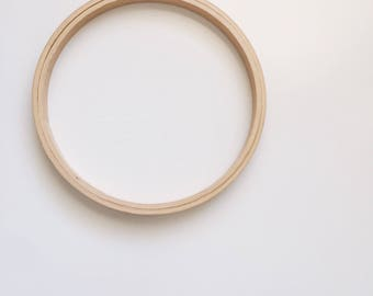"""6"""" Vintage Wooden Hoop"""