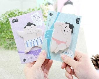 Sumo Wrestler Sticky Notes • Planner Supplies