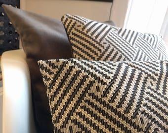 40 x 40 cm velvet and cotton Cushion cover