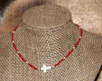 Arkansas Beaded Choker