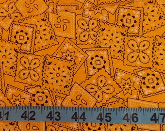 Cotton Fabric - Yellow Handkerchief 1 yard