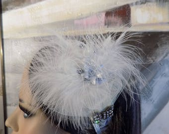 Feathery Party Popper Head Band