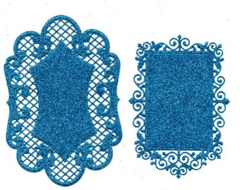 Lace 265 - 2 cuts for cards or cake