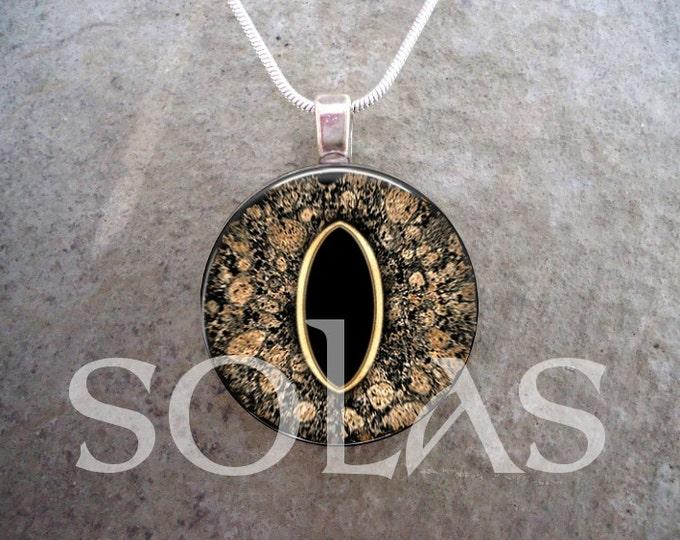 Dragon Eye Jewelry - Glass Pendant Necklace - Dragon Eye 41