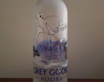 Lighted Gray Goose Shine