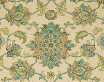 Brooklyn Ocean, Magnolia Home Fashions - Cotton Upholstery Fabric By The Yard