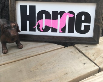 Home doxie!