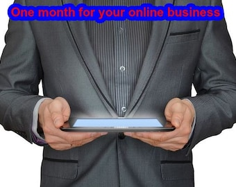 One month for your online business