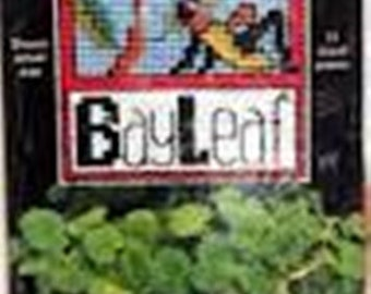 "NMI Plant Poke ""BayLeaf"" Counted Cross Stitch Kit"