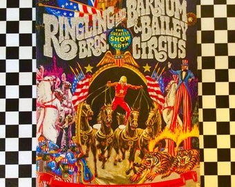 c1975 BICENTENNIAL EDITION Ringling Bros Barnum Bailey CIRCUS Program