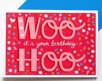 Woo-Hoo! Birthday card