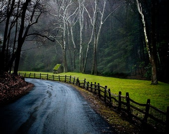 Rural Photography - Cuttalossa Road, Solebury, Pennsylvania