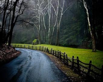 Rural Photography - Cuttalossa Road, Solebury, Pennsylvania