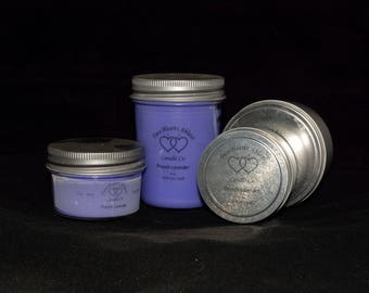100% Soy Candle, French Lavender